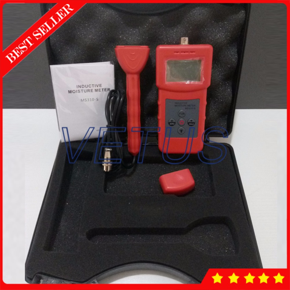 MS310-S Inductive Portable Moisture Meter For Textile