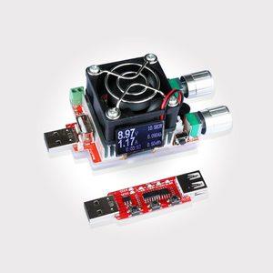 Image 3 - 35 W constante dubbele verstelbare elektronische belasting + QC2.0/3.0 triggers quick voltage usb tester voltmeter aging ontlading
