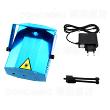 Hot sale Portable Blue multi led Projector DJ Disco state Light music Stage lights Xmas Party wedding club show Laser Lighting