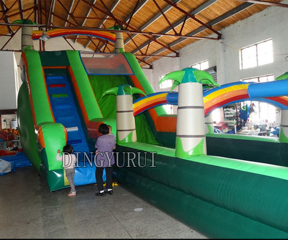 Inflatable Water Slide China: China Factory Sales PVC Inflatable Bouncer Long Water