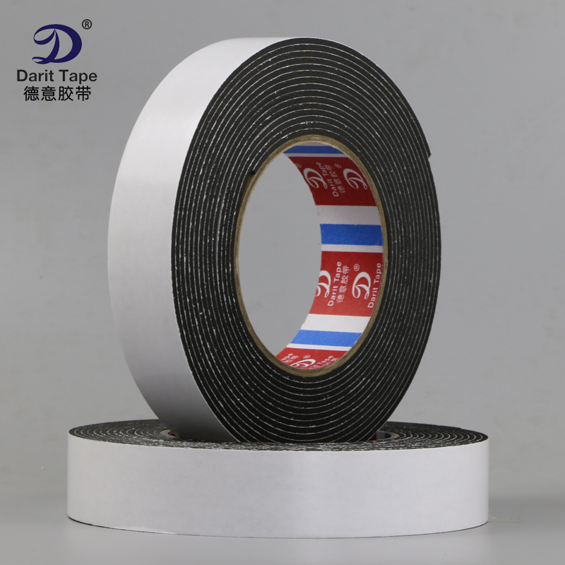 5M Strong 2mm thickness black EVA double-sided tape sponge foam tape foam pad collision seal foam tape double sided foam adhesive tape black 5m