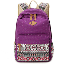 Preppy Style Women Backpack waterproof Canvas Backpack Student School Backpack Lady's Backpacks Female Casual Travel Bag Mochila