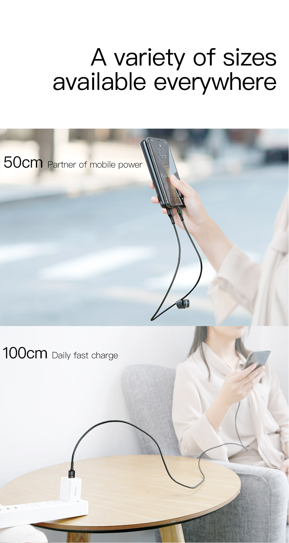 Baseus USB Cable For iPhone Charger Fast Data Charging Mobile Phone Cable For iPhone Xs Max Xr X 11 8 7 6 6S 5 5S iPad Wire Cord 3m 13