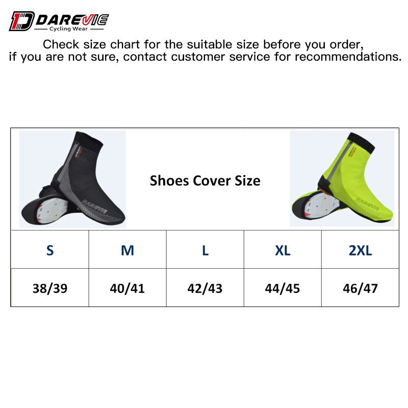 Купить с кэшбэком Darevie Cycling Shoes Covers Waterproof Windproof Cycling Shoes Cover Winter Thermal MTB Road Cycling Lock Shoes Cover Slippers