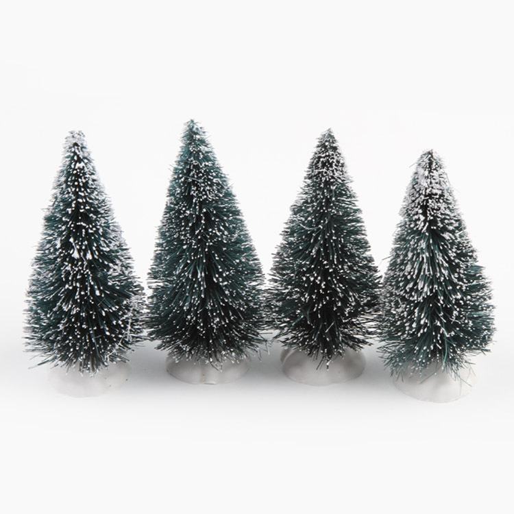 2016 New Arrival Christmas Tree A Small Pine Placed In The Desktop Mini Decoration For Home Festival Party From Garden On