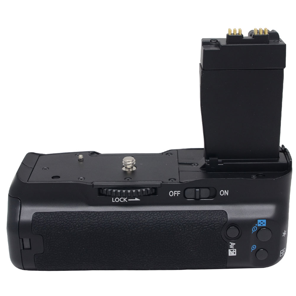 Meike MK-550D Vertical <font><b>Battery</b></font> <font><b>Grip</b></font> Pack For <font><b>Canon</b></font> EOS 550D 600D <font><b>650D</b></font> T4i T3i T2i as BG-E8 image