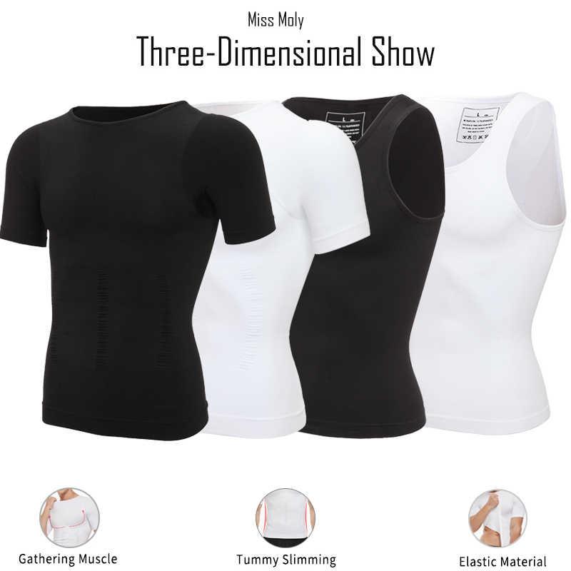 Erkekler Zayıflama Vücut Şekillendirici Karın Kontrol Shapewear Adam Şekillendirme Modelleme Iç Çamaşırı Bel Eğitmen Düzeltici Duruş Yelek Korse