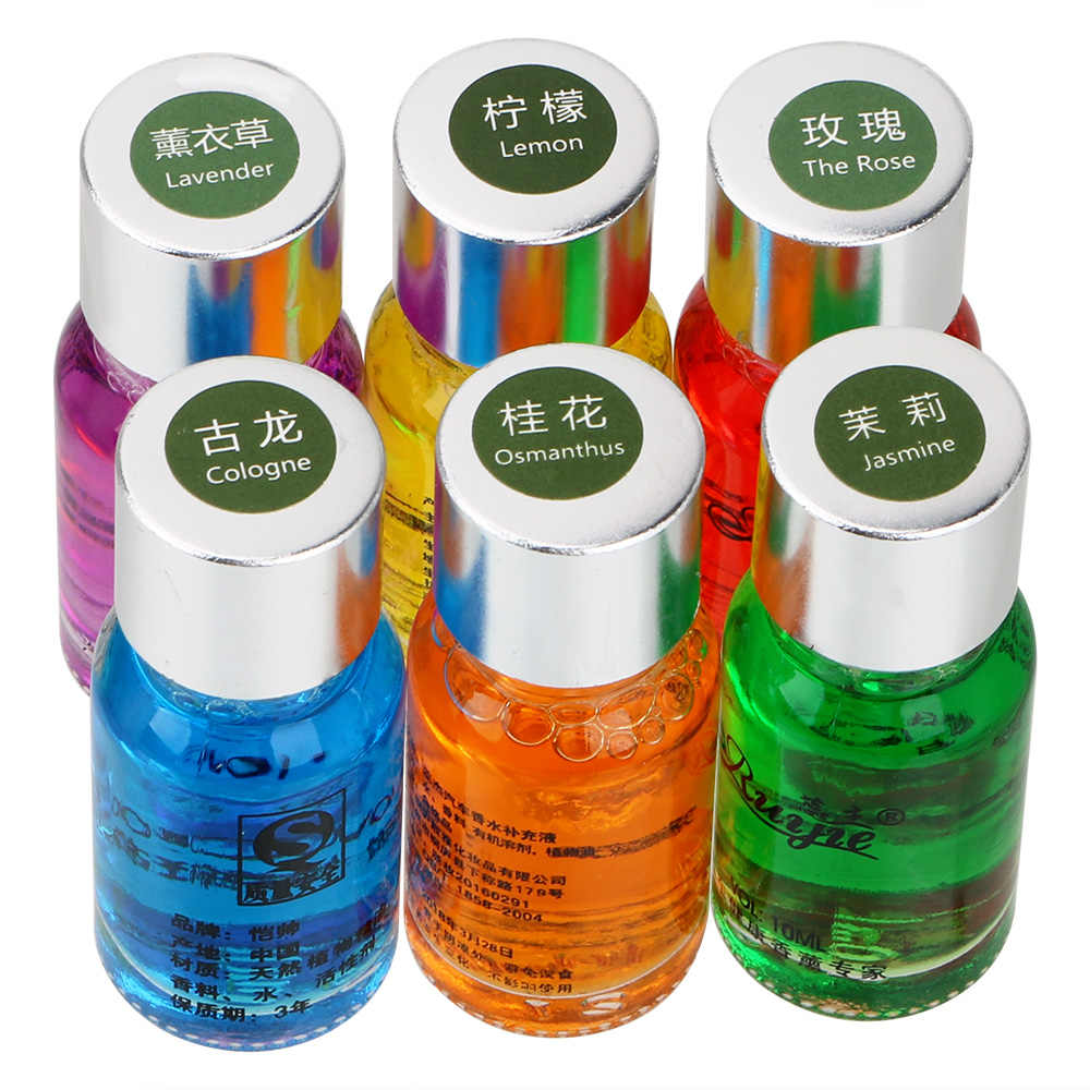 10Ml Aromaterapi Minyak Tumbuhan Alami Esensial Mobil Outlet Parfum Mobil Ventilasi Aroma Pengisian Pengharum Ruangan