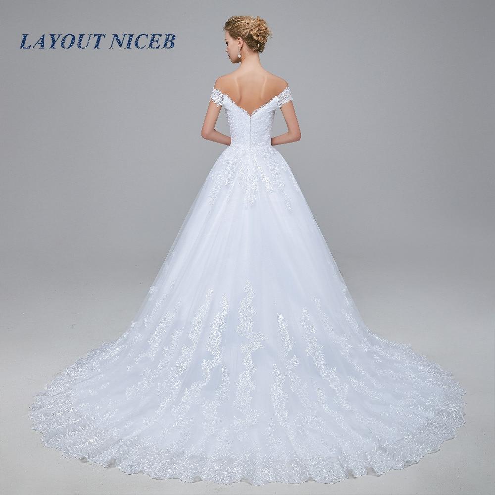 2018 New Arrival robe de mariage Bröllopsklänningar Skräddarsydda - Bröllopsklänningar - Foto 3