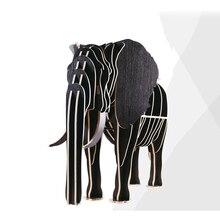 Творческий Nordic Украшения Европейской моды творческие художественные ремесла деревянные Украшения Дома Австралии слон милые сувениры подарок