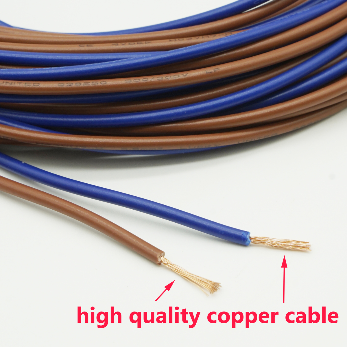 20 meter Elektrische Draht Verzinnt Kupfer 2 Pin 20 AWG isolierte ...