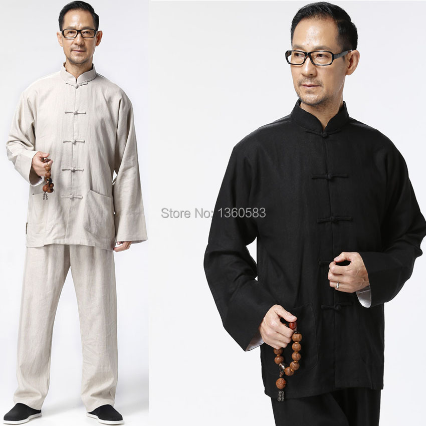 New Chinese wing chun Kung Fu Uniform Martial Arts Tai Chi clothing traditional Tang Suits High Quality clothes Jacket+pants bruce lee wing chun tai chi martial arts clothing set kung fu uniform chinese traditional tang suits men s clothes jacket pants