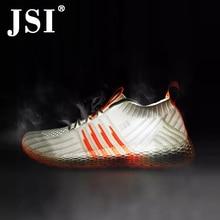 455513c20 JSI/Новинка; модные повседневные женские кроссовки из сетчатой ткани;  Базовая дышащая обувь на