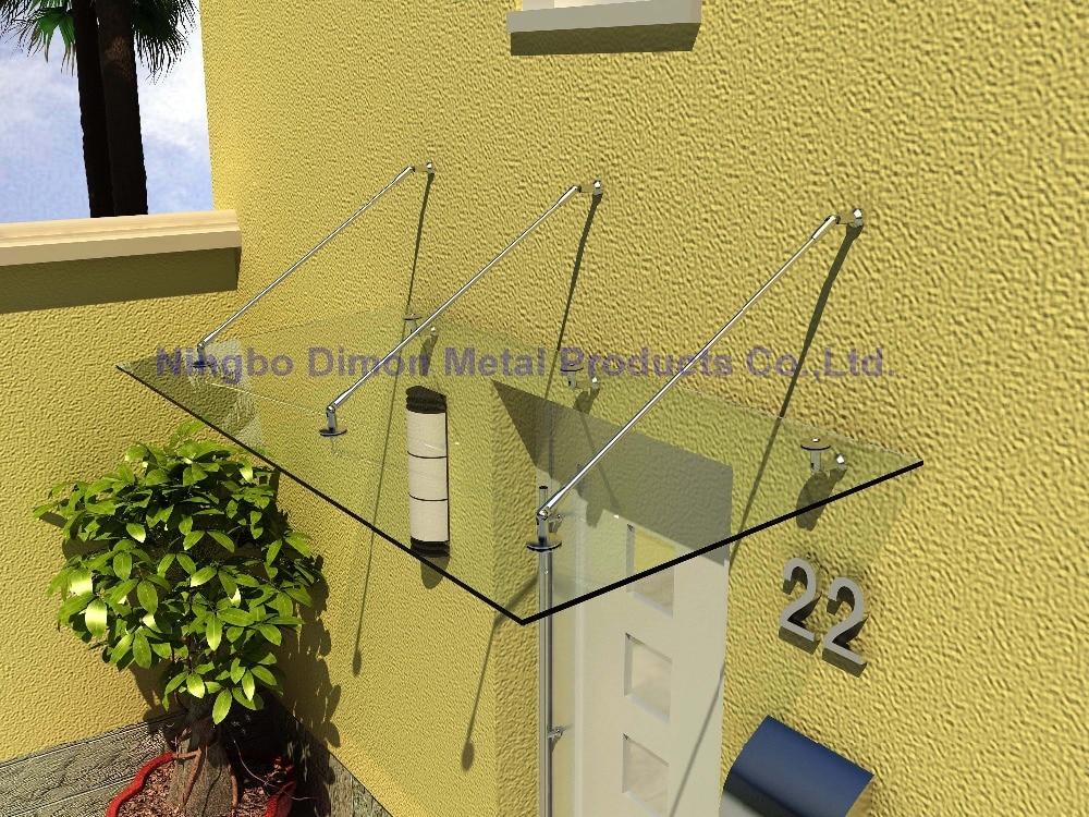 Димон высокого количества стеклянный навес СС 304/ двери тент кронштейн ss304 нержавеющей стали кронштейн кронштейн стекла двери тент навес арматура ДМ-гг 002-3
