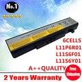 Venta al por mayor nuevos 6 celdas de la batería del ordenador portátil para LENOVO G580 Y480 Y580 Z480 Z580Series L11N6Y01 L11P6R01 L11S6F01 L11S6Y01 envío gratis