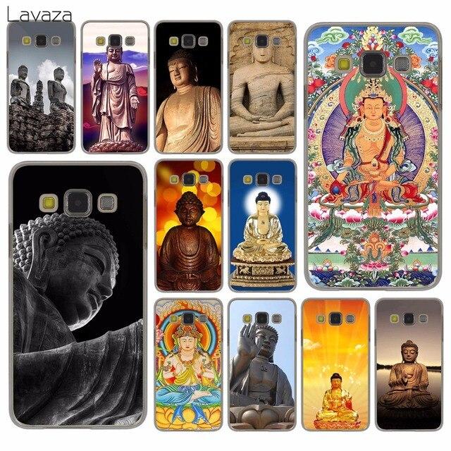 low priced 7a03e 89f90 US $2.25 |Lavaza colorful Galactic Gautama Buddha India Hard Case for  Samsung Galaxy S9 S8 Plus S3 S4 S5 S6 S7 Edge S9 Plus Cover-in Half-wrapped  Case ...