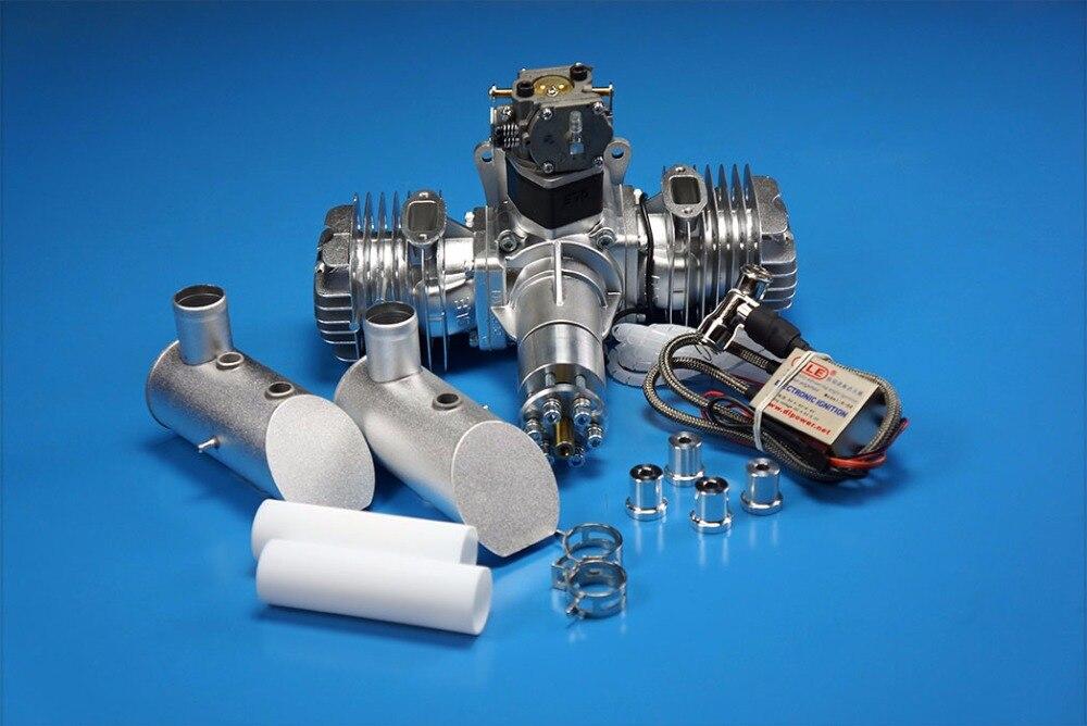 Moteur essence/essence 2 temps double cylindre DLE111 DLE 111CC d'origine pour avion RC