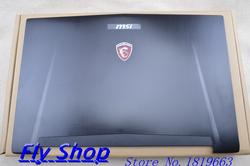 NEW FOR MSI GT72 1781 1782 LCD Back Cover 307-781A415-Y311 307-781A417-Y311 Black