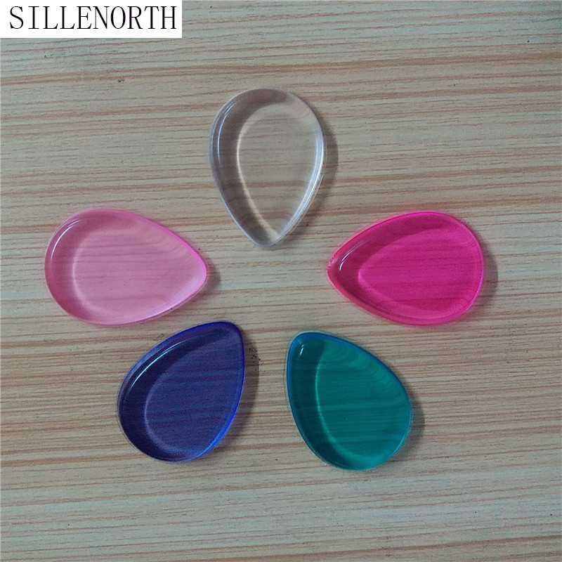 Beauty & Health Cosmetic Puff Cheap Sale Silicone Sponge Makeup Puff Liquid Bb Cc Cream Makeup Puff Foundation Base Cosmetics Clear Silisponge Silicone Gel Sponge Puffs
