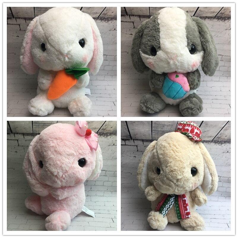 30 cm Kinder Cartoon Lolita Kaninchen Eduational Plüschtier, Baby Bunny Flauschige Kaninchen Plüschtier Stofftiere, Kinder kaninchen Geschenk Spielzeug-in Gefüllte & Plüschtiere aus Spielzeug und Hobbys bei  Gruppe 1