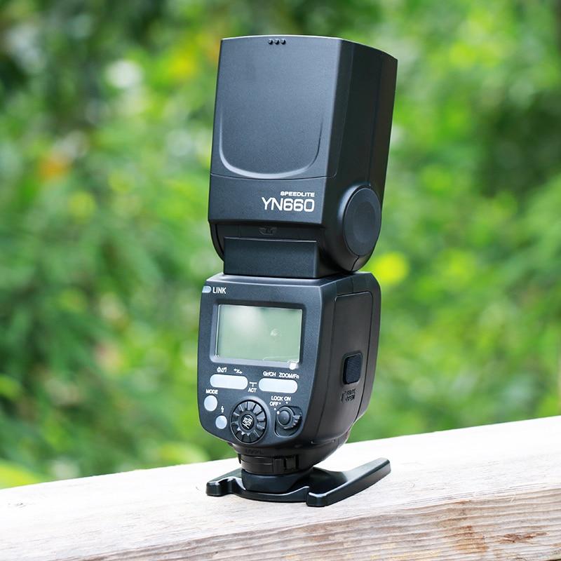2017 New Original YONGNUO YN660 Wireless Flash Speedlite GN66 2.4G Wireless HSS 1/8000s For Canon Nikon Pentax Olympus Camera yn e3 rt ttl radio trigger speedlite transmitter as st e3 rt for canon 600ex rt new arrival