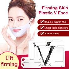 5PCS V Line Mask Neck Face Lifting Chin Up Patch Double Reducer Contour Tightening Firming Moisturizing Shape Tap