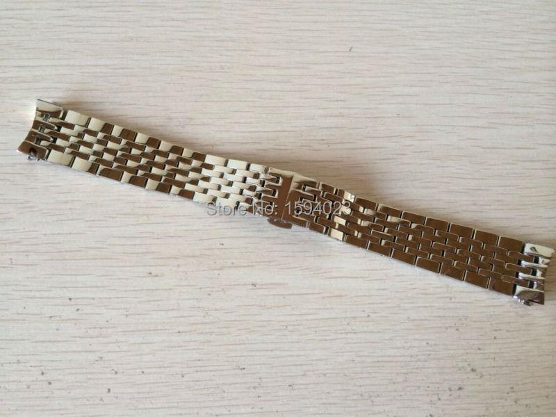Prix pour 19mm Montre Pièces vigueur Locke T41 mâle bande Solide en acier Inoxydable bracelet bracelet L264 L164/264-1