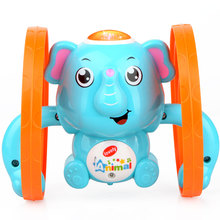 Educational-Toy Clockwork Wind-Up Kids Cute Animal for Present Puppy Elephant Baby Lovely