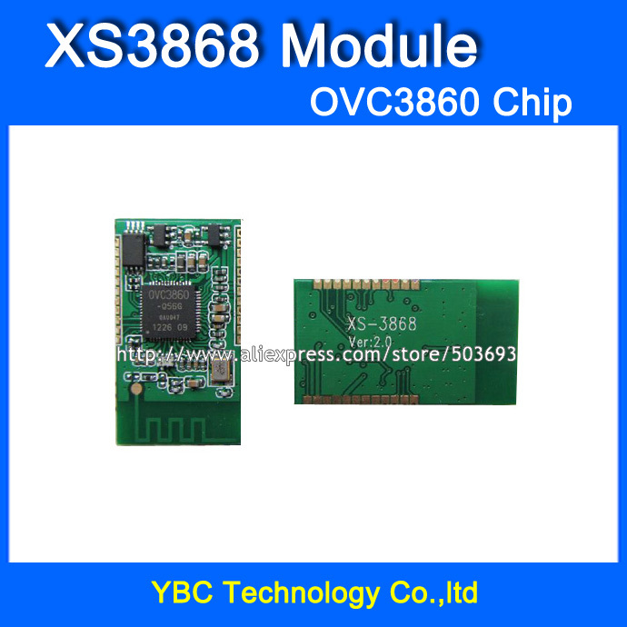 Бесплатная Доставка 5 шт./лот <font><b>XS3868</b></font> <font><b>Bluetooth</b></font> Стерео Аудио Модуль Мастер Чип OVC3860 Стерео <font><b>Bluetooth</b></font> Модуль