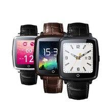 Neue 100% original lederarmband bluetooth smartwatch u11c smart watch telefon unterstützung sim karte, video-wiedergabe für ios android