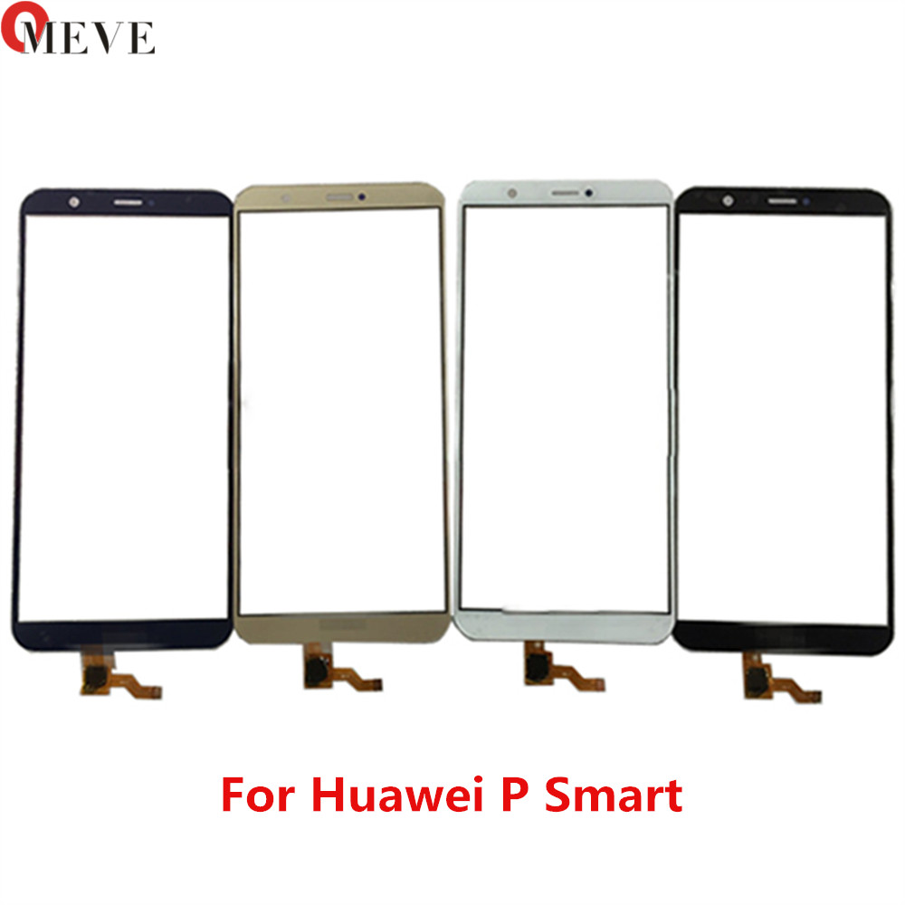 5.65'' Screen For Huawei P Smart FIG-LX1 FIG-L21 FIG-L22 Touch Screen Digitizer Sensor Lens Front Glass Panel Black White Gold