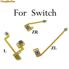 ChengHaoRan Flex Cable Replacement L ZL ZR Button Key Ribbon Flex Cable For Nintendo NS Switch Joy-Con Controller Buttons Cable