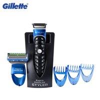 Gillette Fusion Proglide Styler 3 In 1 Razor Beard Trimmer Edging Blade For Men Facial Hair