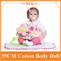 Super Lovely 55cm Reborn Baby Dolls For Sale With Soft Two Pieces Suit Wholesale Good Price