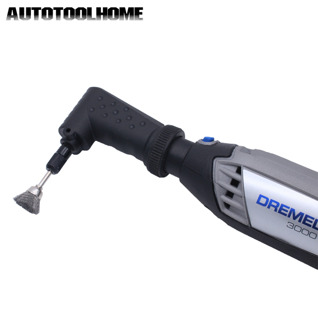 New 90 Dgree Right Angle Driver Converter Rotary Tool Attachment fit Dremel 4000 3000 275 8100 For Abrasive Tools Accessories