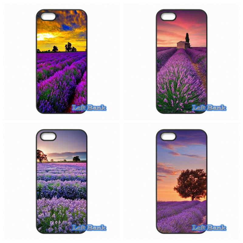 For Apple iPhone 4 4S 5 5S 5C SE 6 6S 7 Plus 4.7 5.5 iPod Touch 4 5 6 Provence Lavender Case Cover