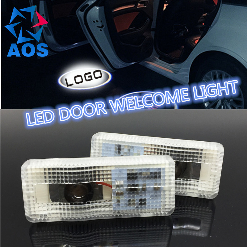 2PCs Car LED Courtesy Door Logo Projector Light Ghost Shadow Light FOR CITROEN C5 CTRIOMPHE PICASSO C4 C2 C3 SAXO 2 newest ghost shadow light laser logo projector light led car logo courtesy door lamp for citroen aircross berlingo ds c series