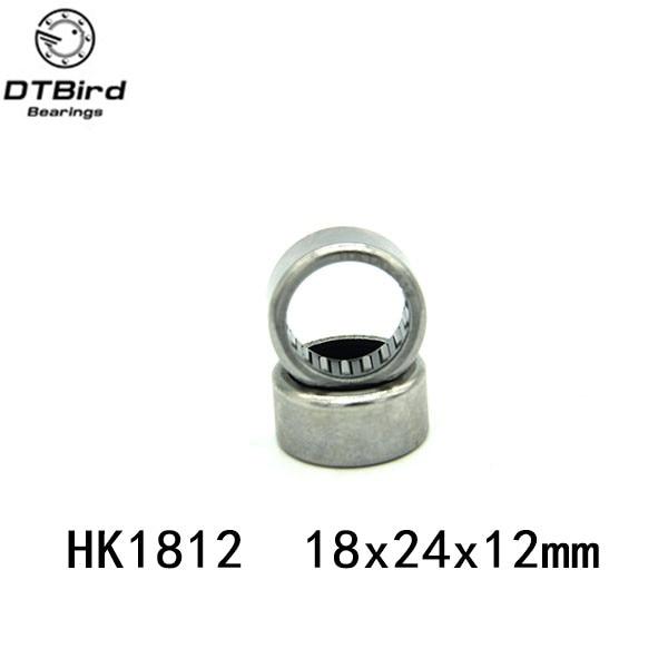 10Pcs HK182412 HK1812 Double Way Needle Bearing 18mm x 24mm x 12mm