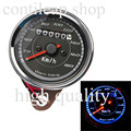 IZTOSS B716 Motorcycle vintage  Odometer Speedometer Gauge Meter Dual Color LED Back Light   freeshipping