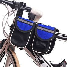 NUCKILY Waterproof Road Bike Saddle Bag Multi-functional Bicycle front bag  G717