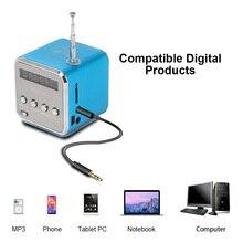 Радио FM цифровые для телефона компьютерные колонки с сабвуфером бас Вибрация USB ноутбук Поддержка TF карта USB 4 цвета