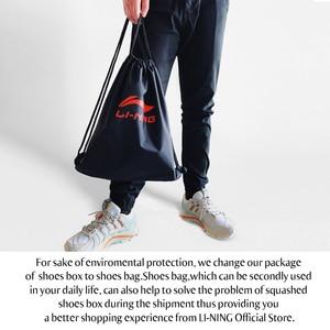 Image 5 - Мужские прогулочные туфли Li Ning BUBBLE FACE II, носимые Нескользящие удобные спортивные туфли с подкладкой, кроссовки для фитнеса AGCP005 SJFM19