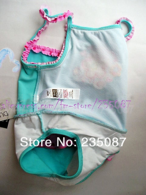 3febcda9c8 (0 12months) baby girl swimsuit petty flower heart swimsuit for girls with ruffles  girls bikini summer style girl swimming suit-in Swimwear from Mother ...