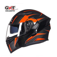 2017 New Knight Protection GXT Flip Up Motorcycle Helmet G902 Undrape Face Motorbike Helmets Made Of