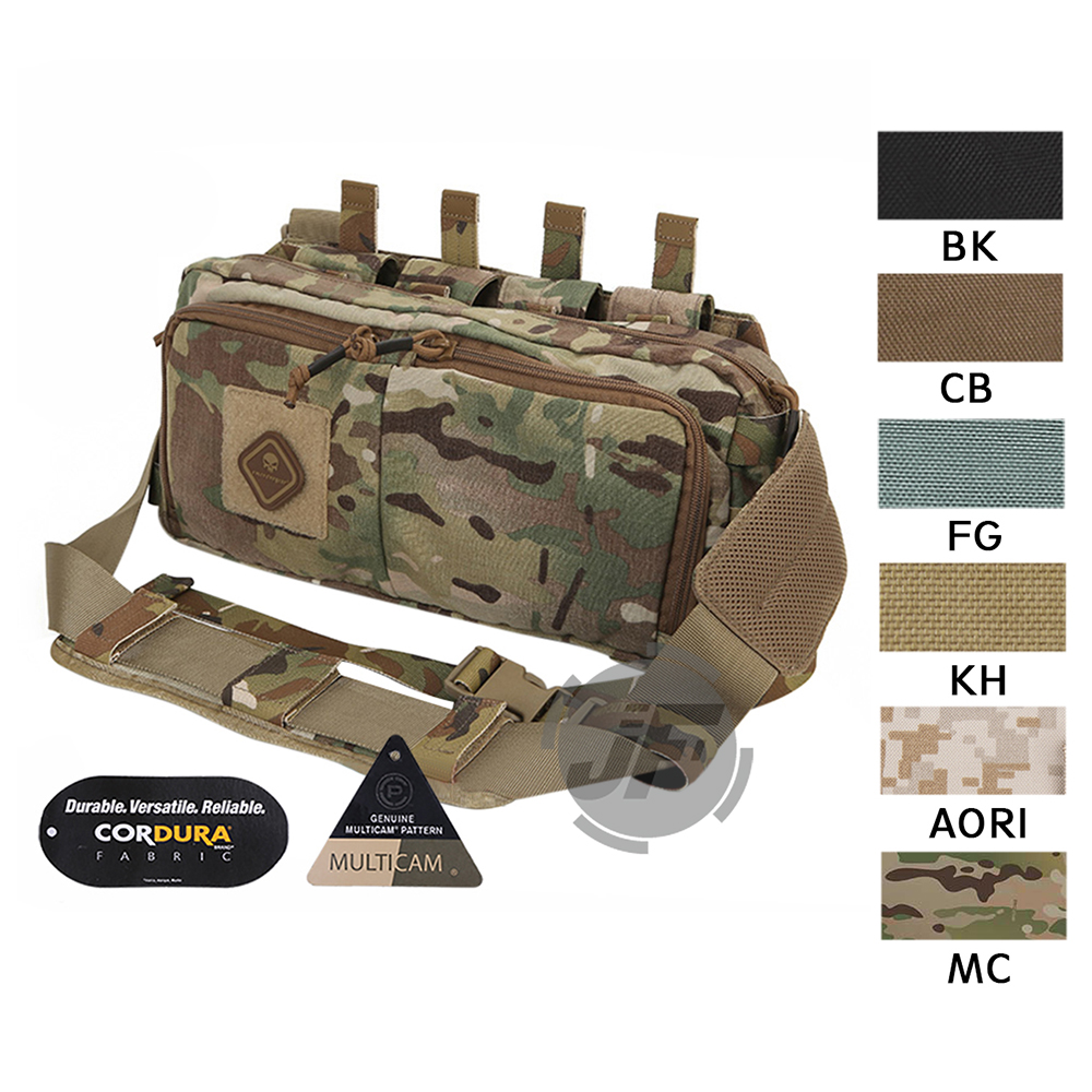 EmersonGear multifonctionnel tactique Recon taille sac gamme fronde Fanny Pack assaut Messenger sac w/MOLLE Emerson léger