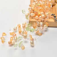 Jiuduo colares multicor artesanal de água doce pérola colar alta qualidade tricô colar gargantilhas colares jóias