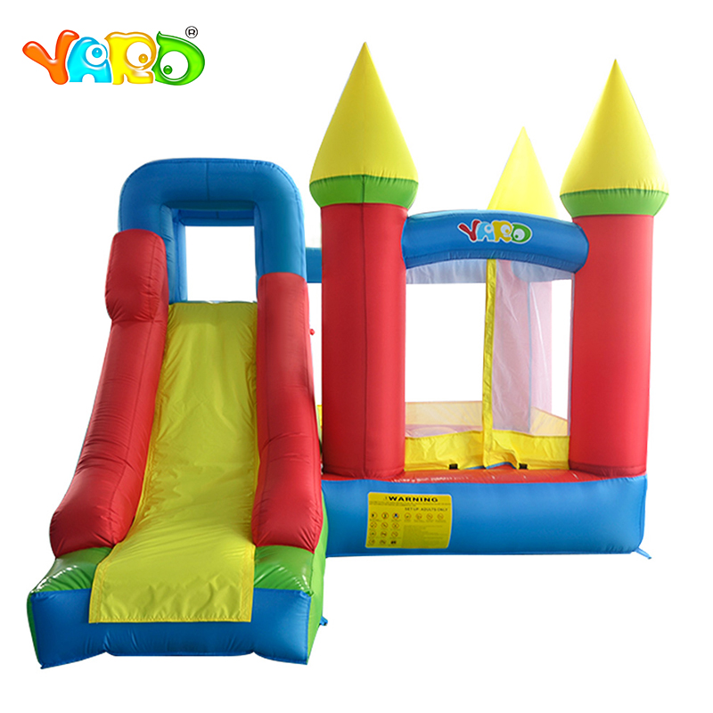 YARD Inflatable Toys Slide Bounce House Outdoor Jumping Castle Bouncer Bouncy Castle Sent Free PE Balls 6210 yard double inflatable slide inflatable toys bounce house cama elastic trampolines for kids bouncy castle