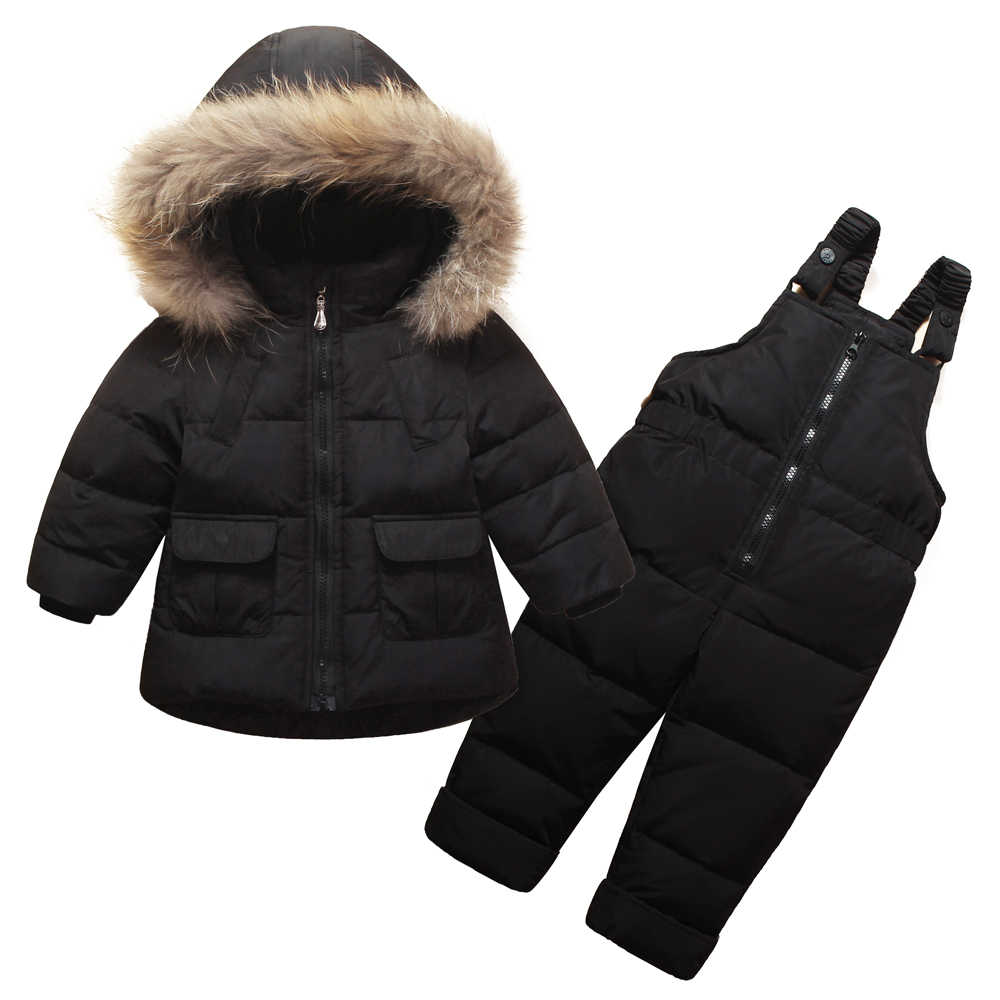 7a818dcdb Detail Feedback Questions about 2018 Winter Coat for Girls Warm Ski ...