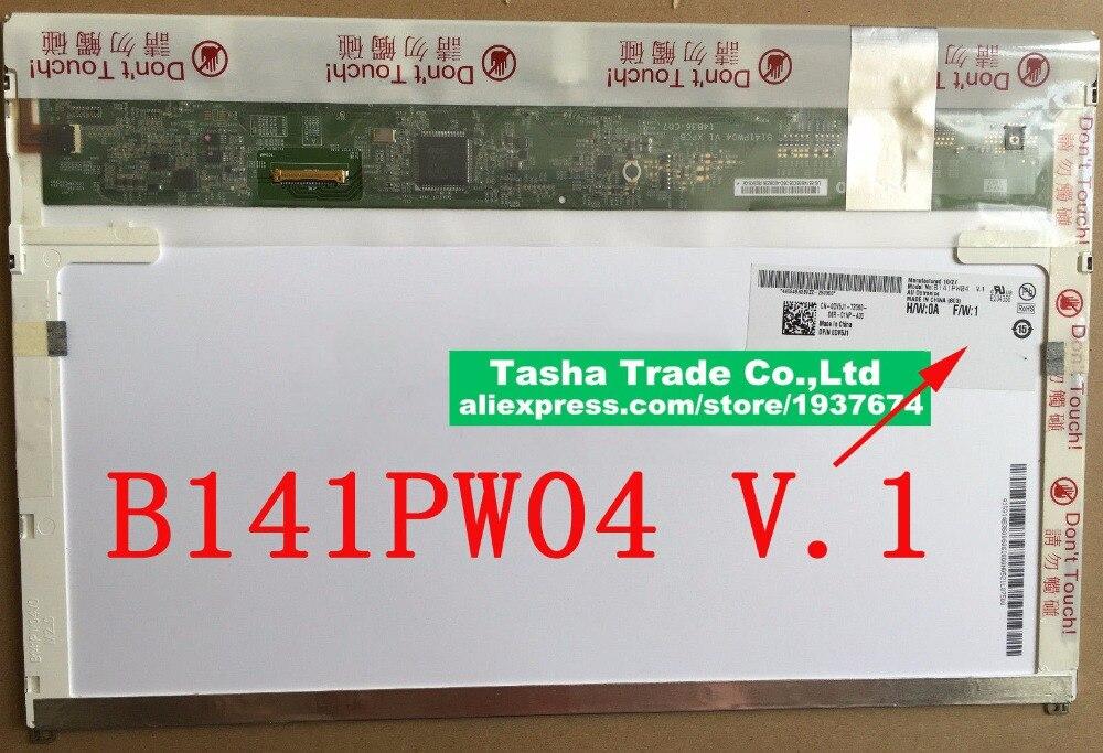 все цены на AUO B141PW04 V.1 for Dell E5410 LCD Screen 30pin LED Display Matrix 1440*900 Matte онлайн