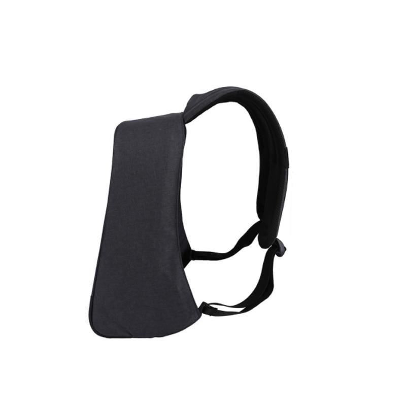 2017 Tigernu Waterpoof Anti-thief USB charging Backpack Business Mochina Black Mens Backpacks Preppy Style Backpack mochila